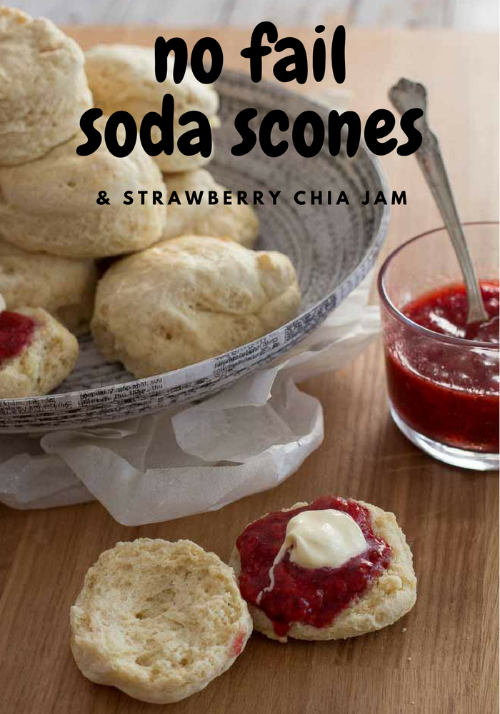 Soda Scones. 5 Minute Strawberry Chia Jam | My Kitchen Stories