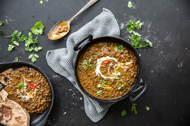 Vegan Dal Makhani (Creamy Black Lentil Dal) - Cook Republic