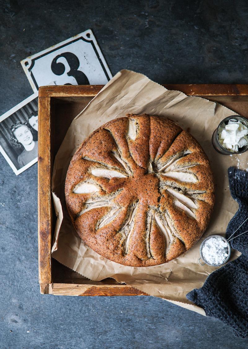 Versunkener Birnenkuchen mit Mohn | Zucker, Zimt und Liebe