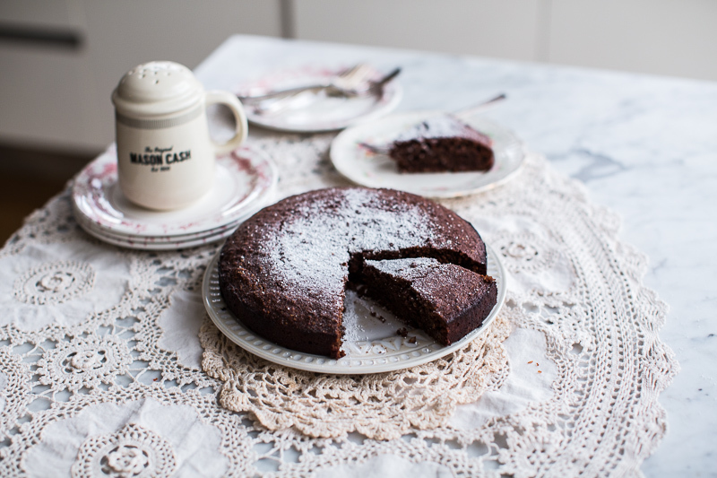 Hazelnut Cacao Cake - Cook Republic