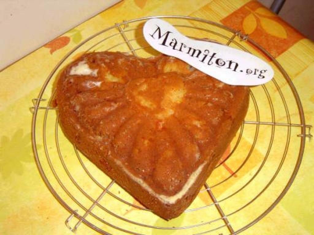 Gâteau aux pommes et à l'ananas