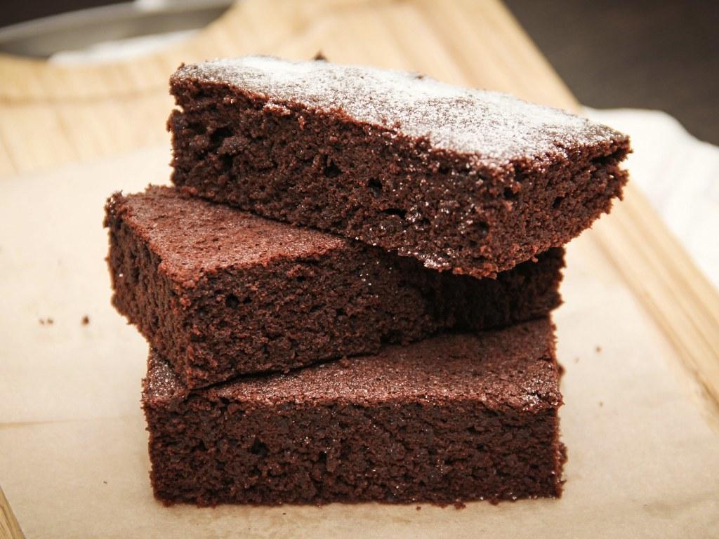 Moelleux au chocolat sans beurre sans sucre
