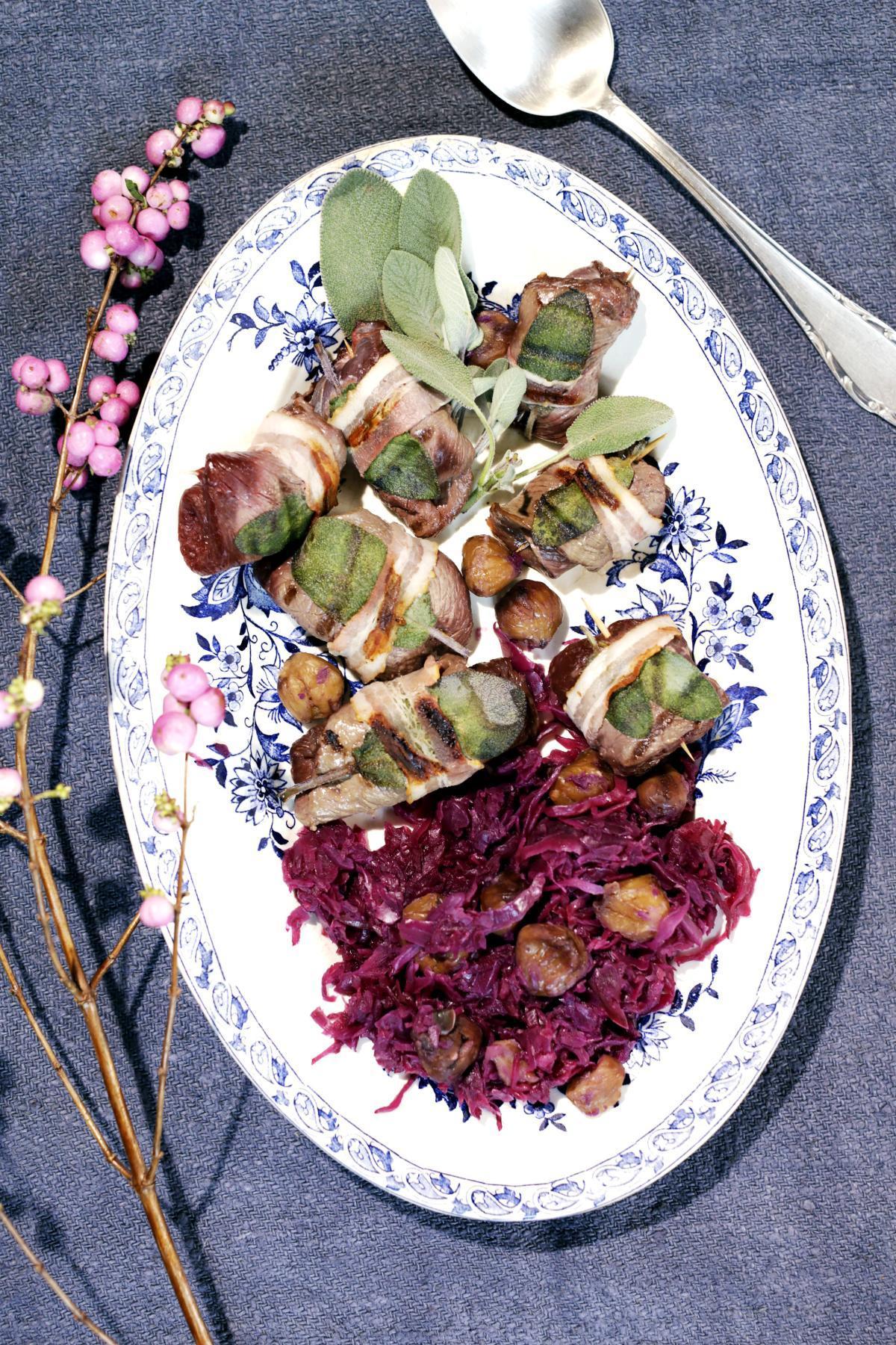 Rezept: Saltimbocca vom Hirsch | NZZ Bellevue