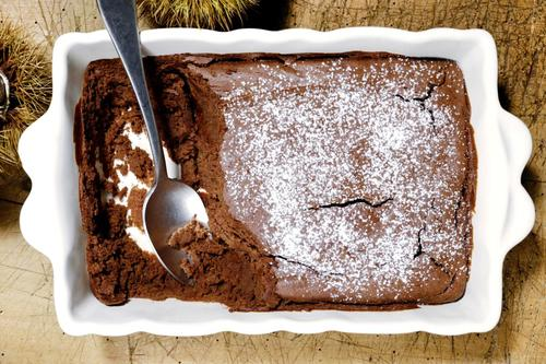 Rezept schokoladen marroni dessert nzz bellevue