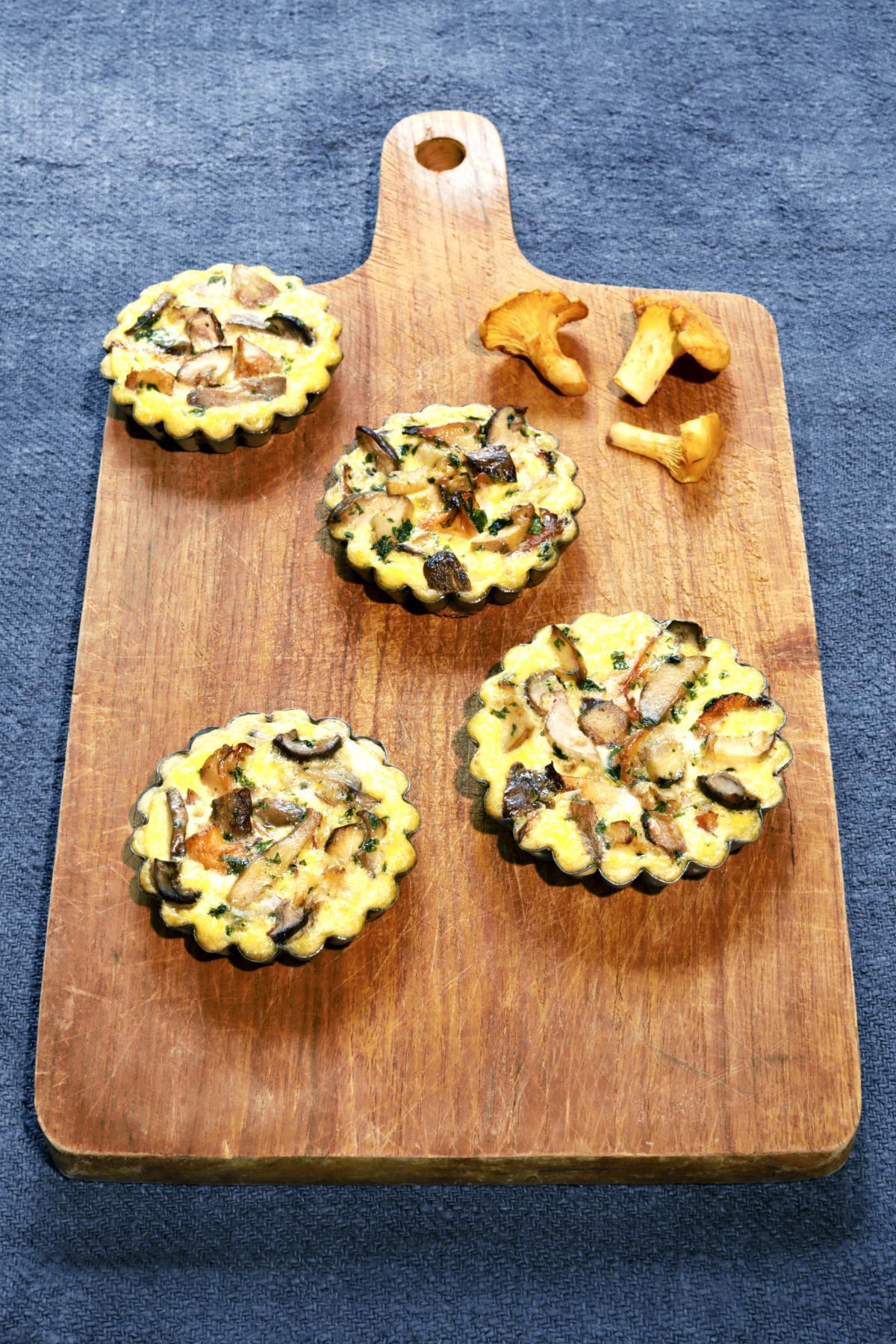 Rezept: Pilz-Tartelettes | NZZ Bellevue