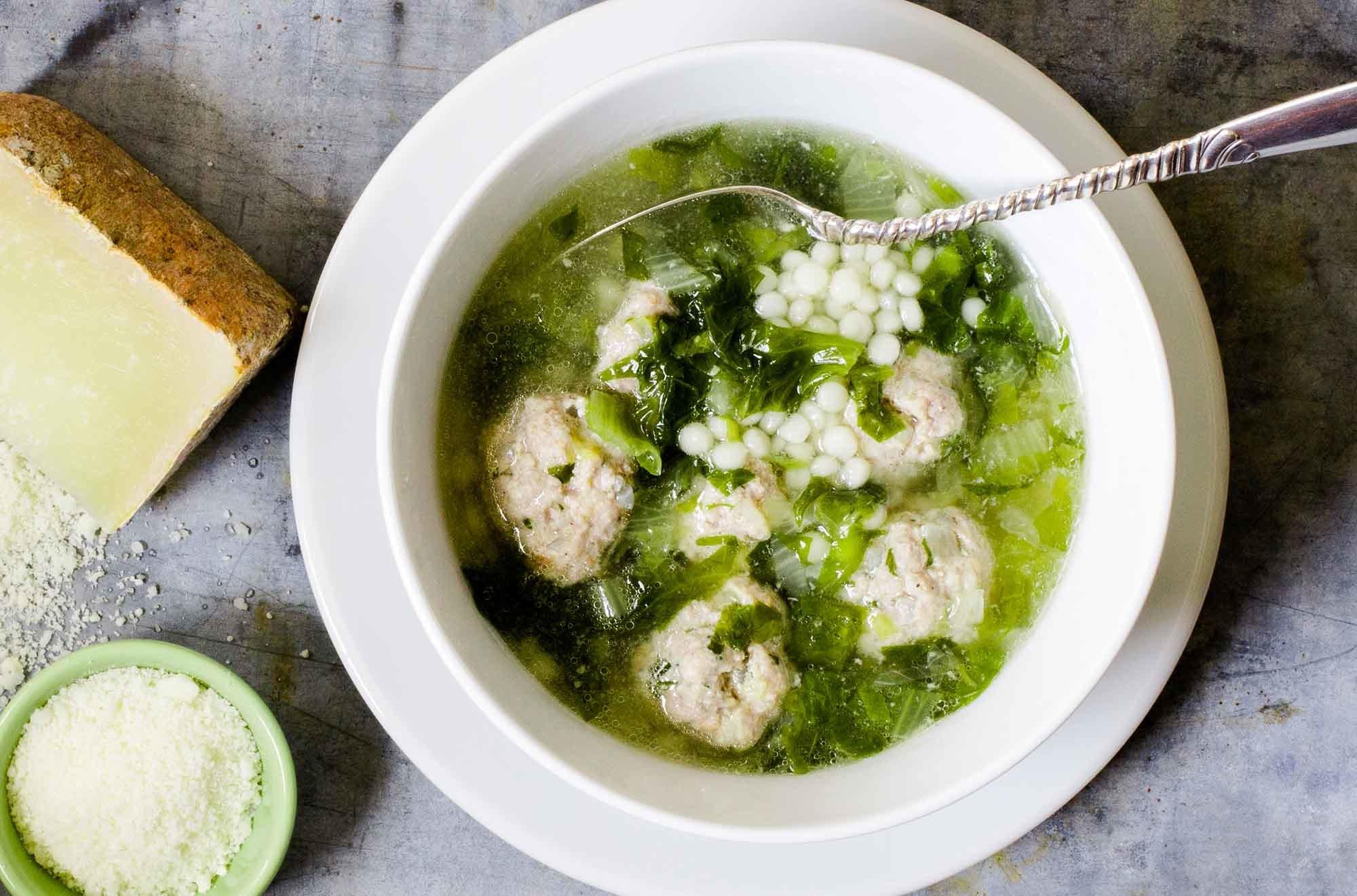 ItalianWeddingSoup Recipe | SimplyRecipes.com