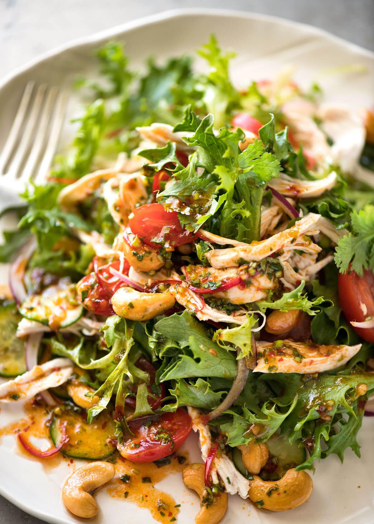 Thai Chicken Salad | RecipeTin Eats