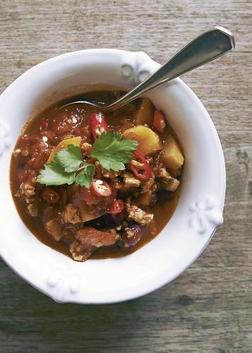 Rezept auch fur veganer chili con carne mit tofu nzz bellevue