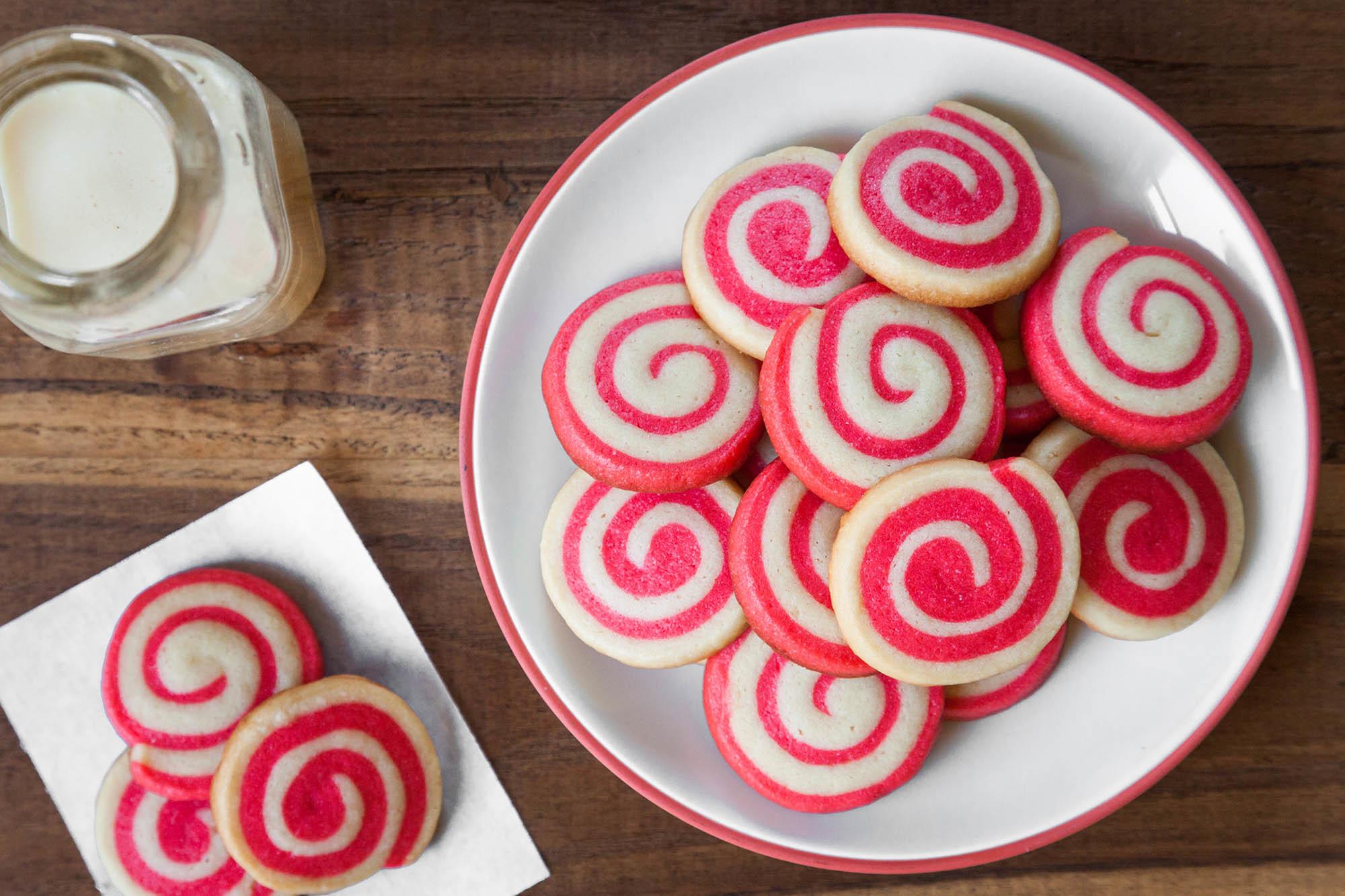 Holiday Pinwheel Cookies Recipe | SimplyRecipes.com