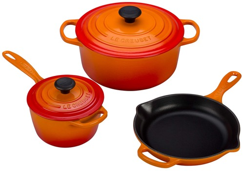 Le creuset giveaway for the release of my book l appart