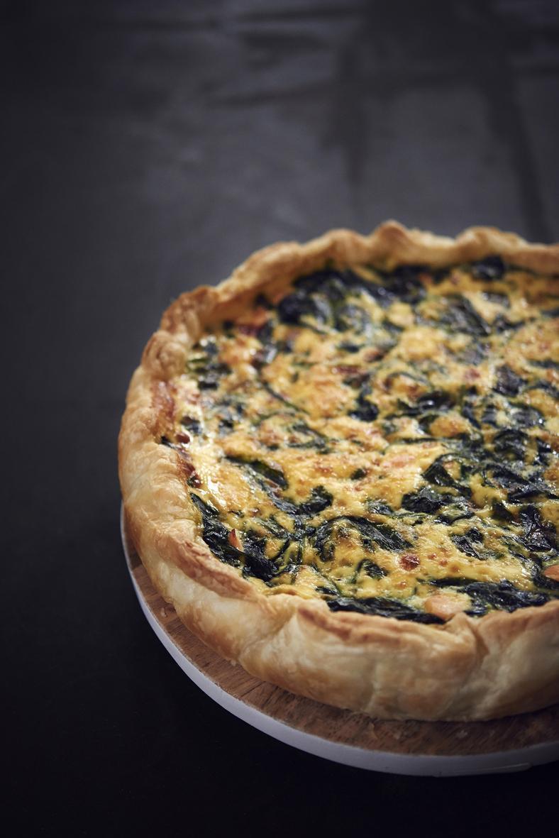 Rezept: Lachs-Spinat-Quiche | NZZ Bellevue
