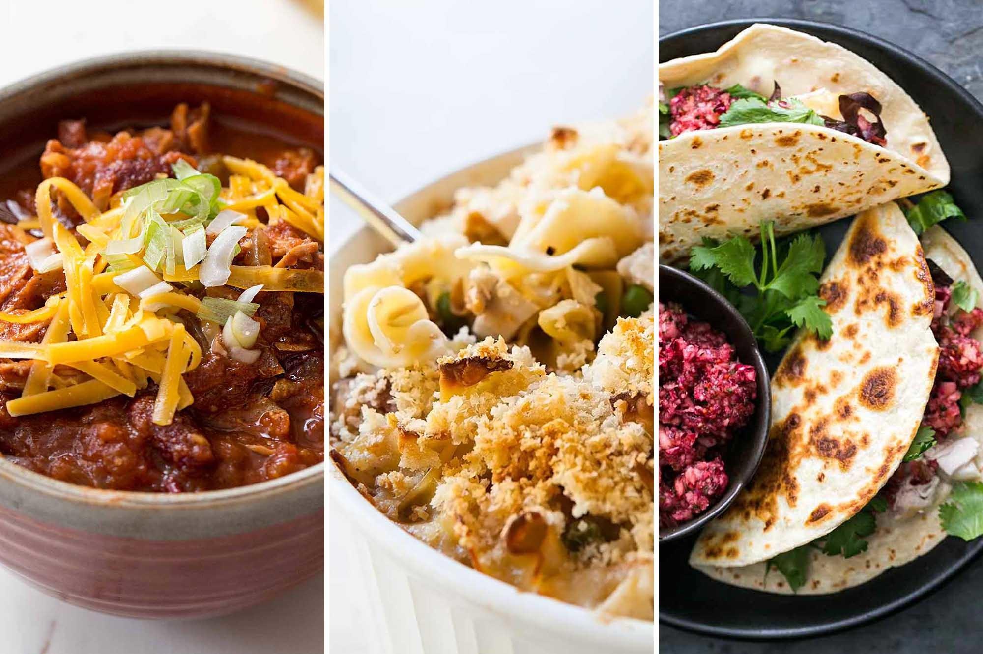 8 Best Recipes for Using Up Leftover Turkey | SimplyRecipes.com