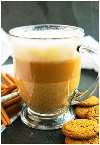 Homemade Gingerbread Latte Recipe