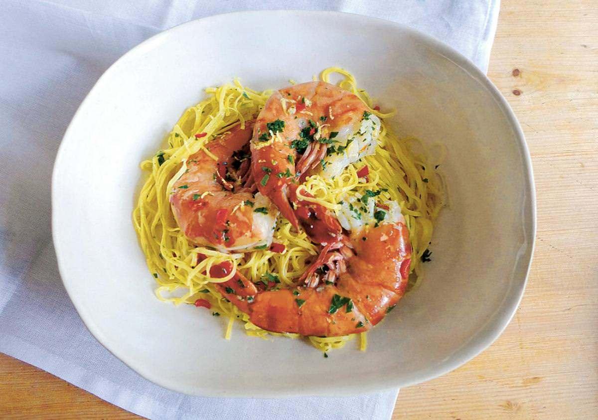 REZEPTE: Pasta mit Shrimps | NZZ Bellevue