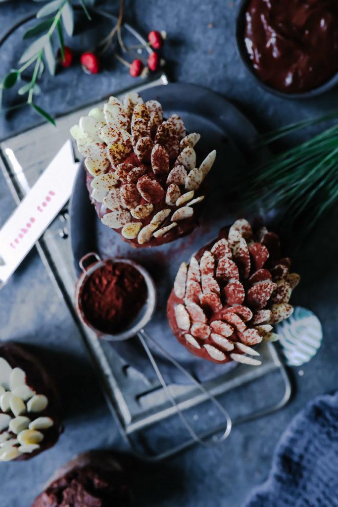 Lebkuchen Schokomuffins Rezept | Zucker, Zimt und Liebe