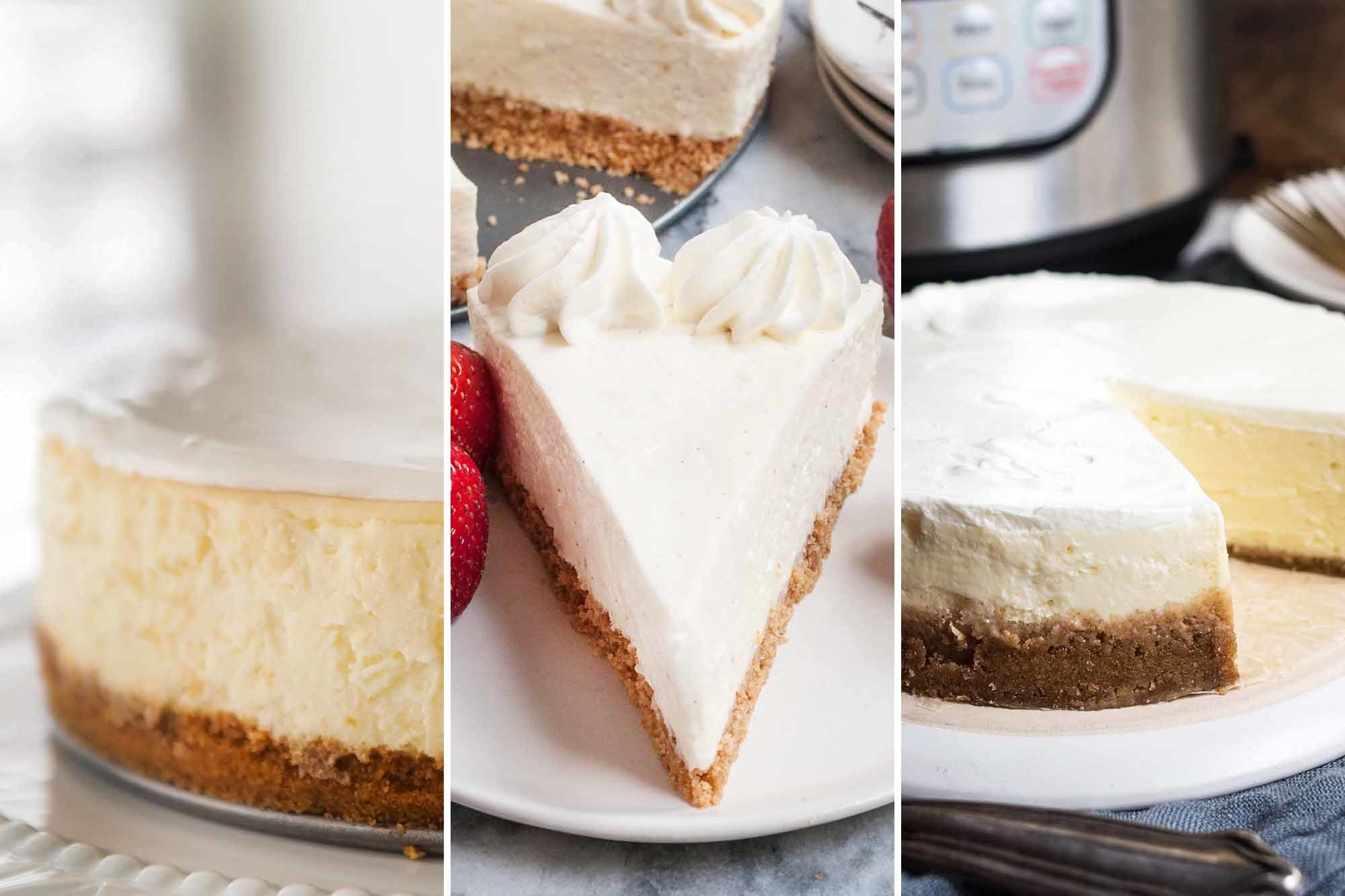 3 Ways to Make a Great Cheesecake | SimplyRecipes.com