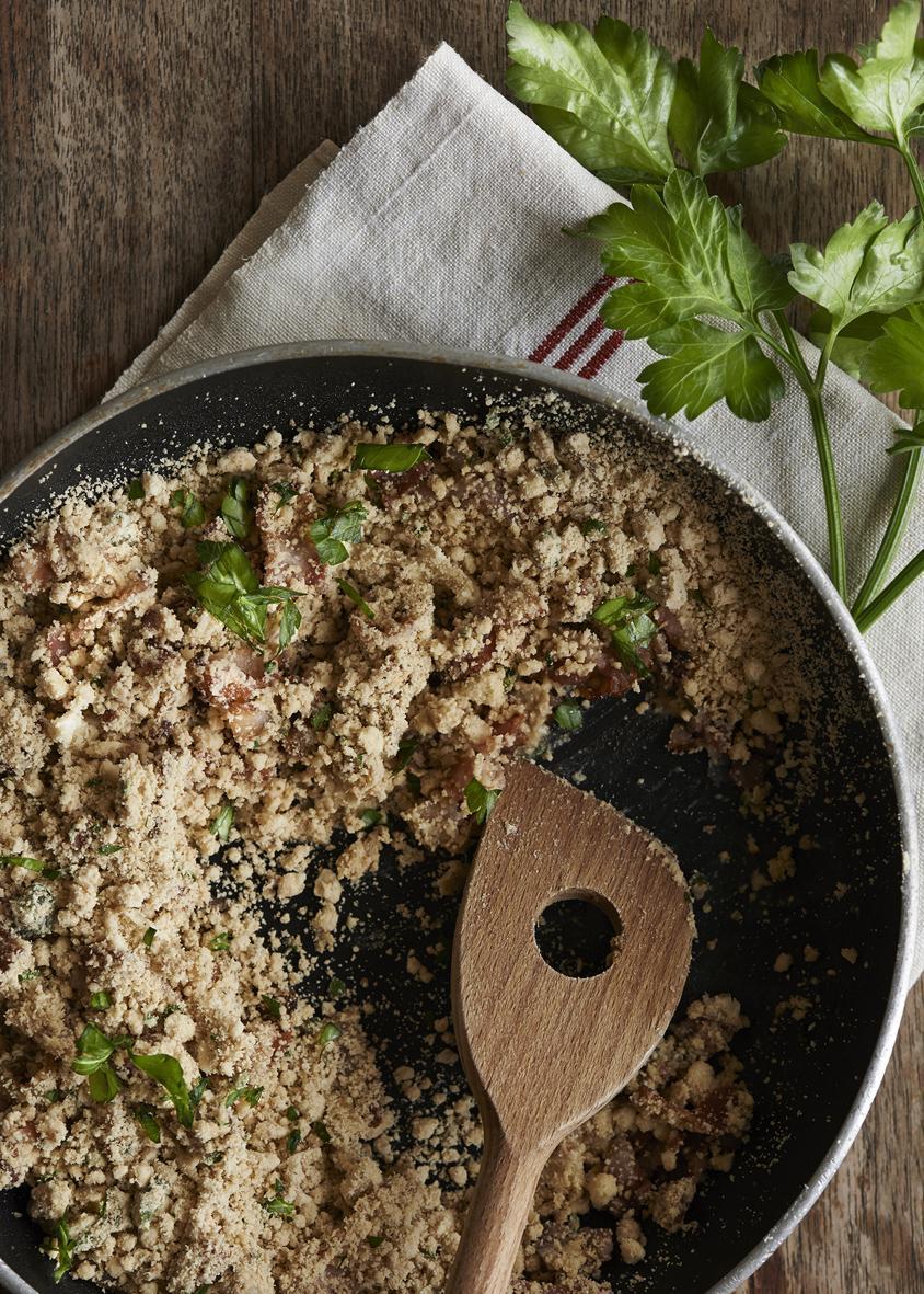 Rezept: Farofa mit Fisch und Gemüse | NZZ Bellevue