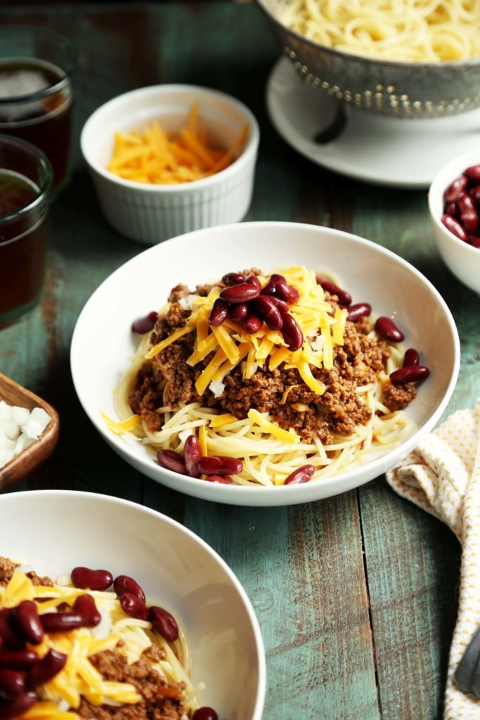 Cincinnati Chili Dinner | Joy the Baker