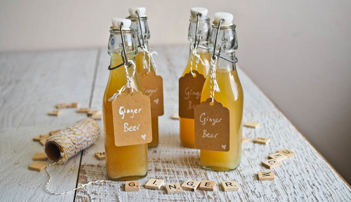Edible christmas gifting chilli ginger beer fermented
