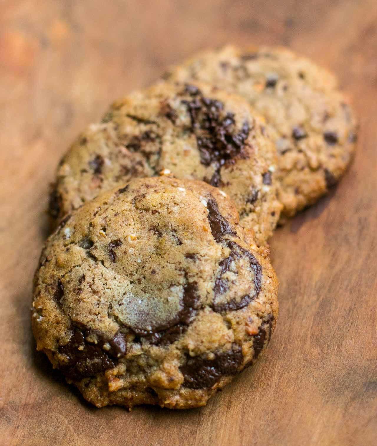 Buckwheat Chocolate Chip Cookies