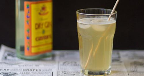 Hausgemachtes tonic water kraut und ruben