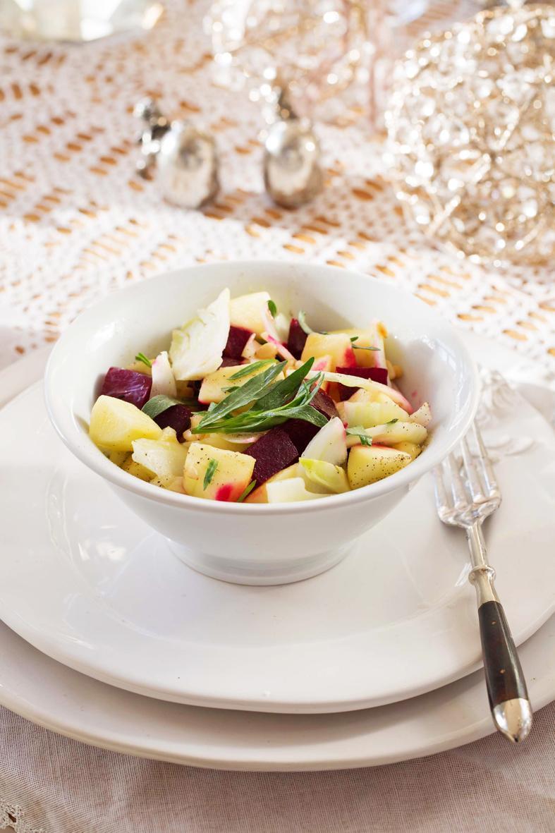 Rezept: Randensalat mit Apfel und Fenchel | NZZ Bellevue