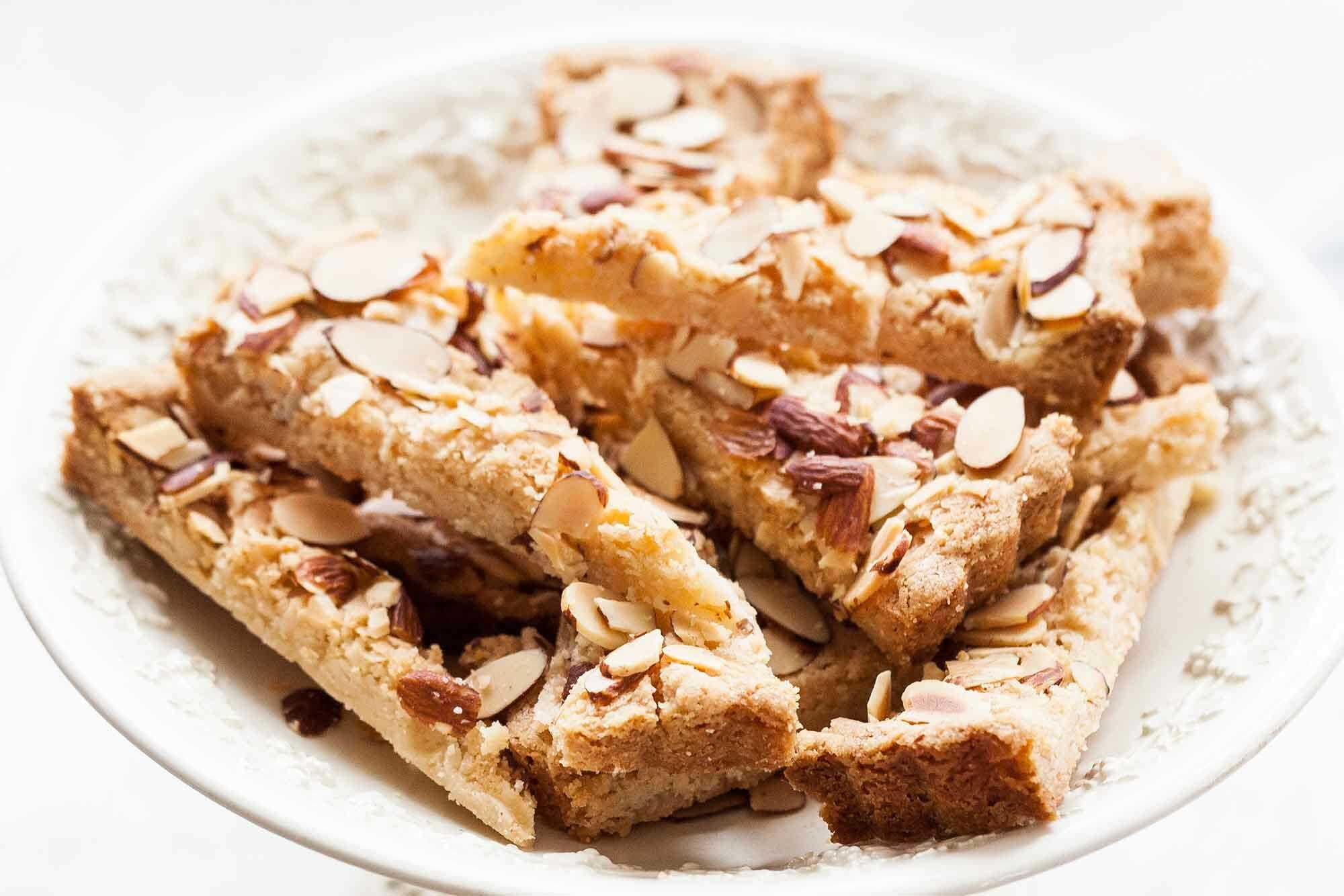 Almond Shortbread Cookies Recipe | SimplyRecipes.com