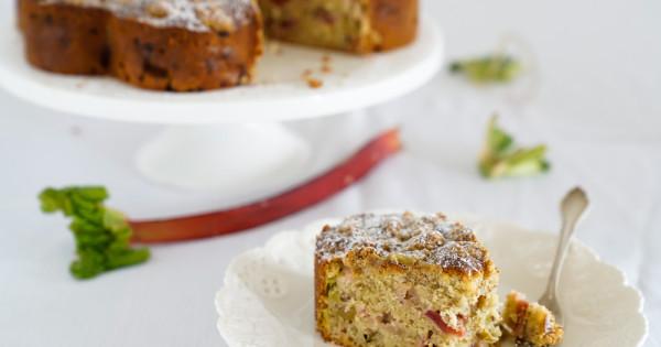 Rhabarber-Streuselkuchen mit Vanille - Kraut und Rüben