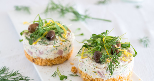 Pikante Mini-Cheesecakes - Kraut und Rüben