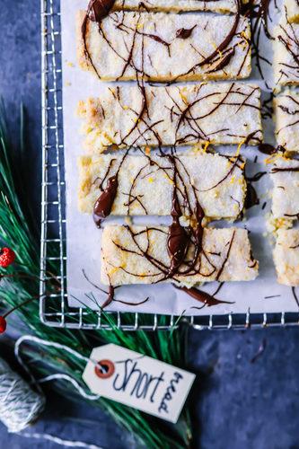 Schoko orangen shortbread rezept zucker zimt und liebe