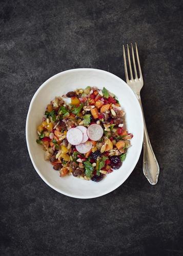 Rezept salat mit einem hauch von orient nzz bellevue
