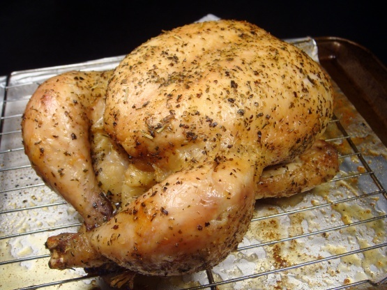 Moist Roasted Whole Chicken Recipe - Genius Kitchen