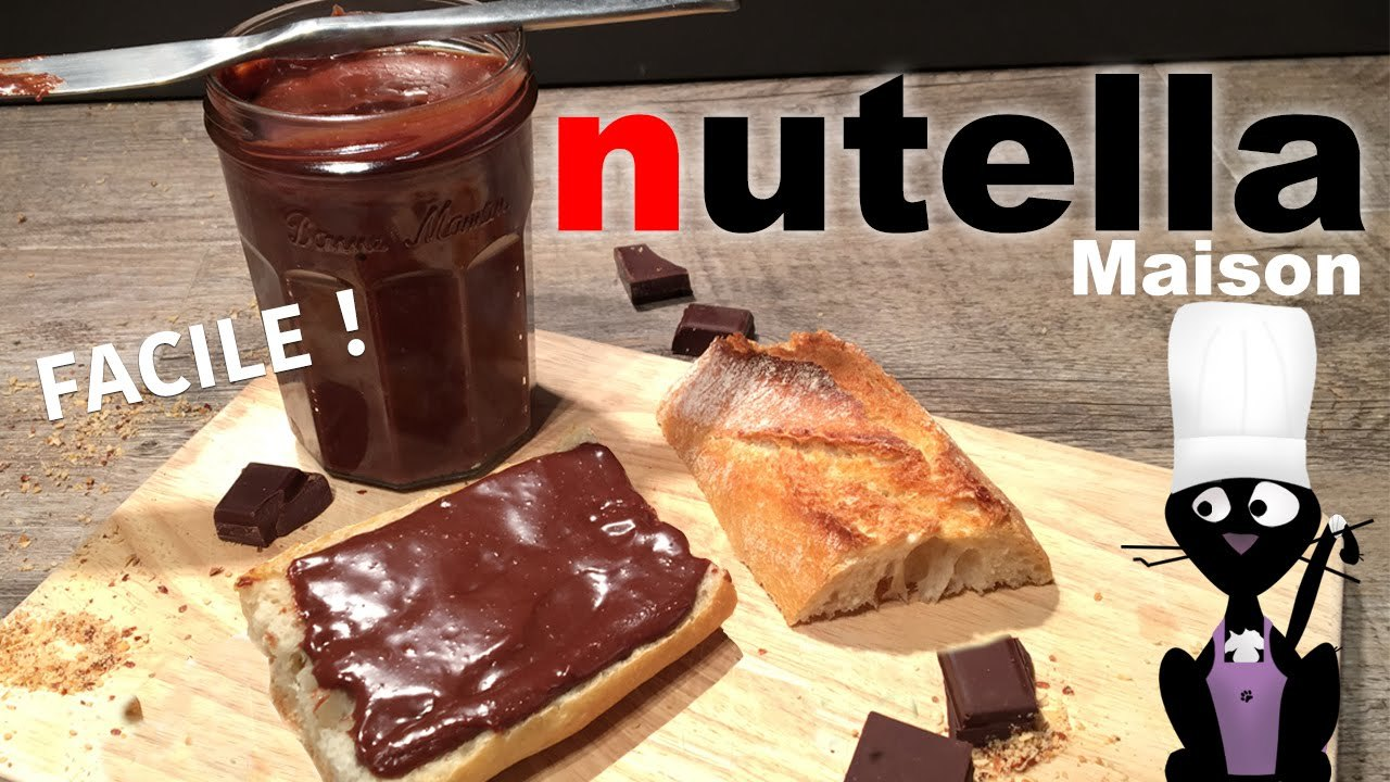 ☆◦Comment faire du Nutella maison - Recette FACILE ◦☆ - YouTube