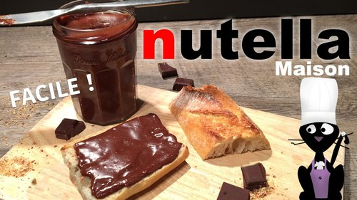 Comment faire du nutella maison recette facile youtube