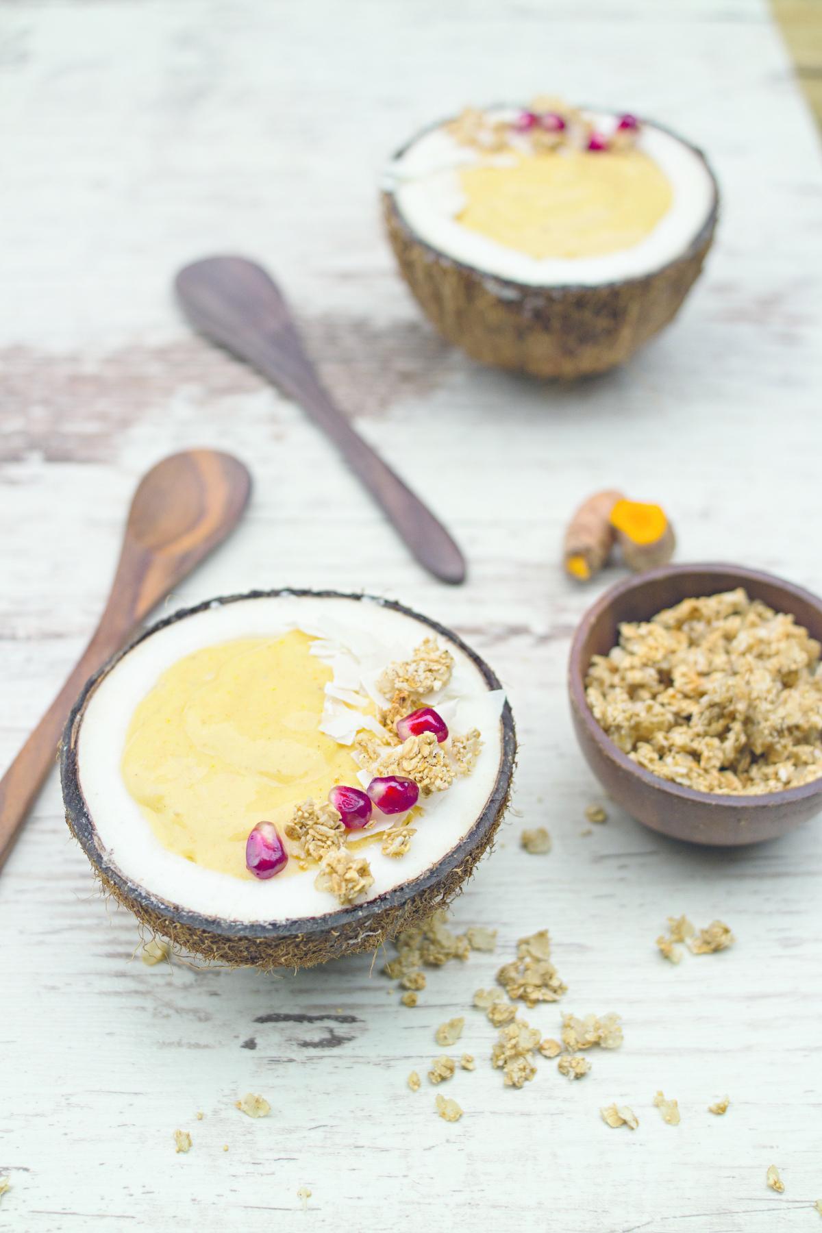 Rezepte: Golden Colada mit Kurkuma | NZZ Bellevue