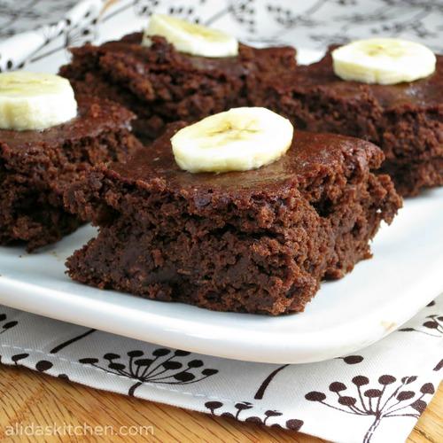 Chocolate banana brownies alida s kitchen
