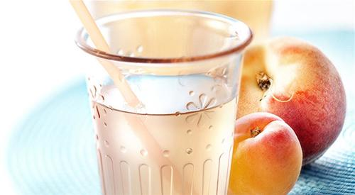 Peach apricot lemonade