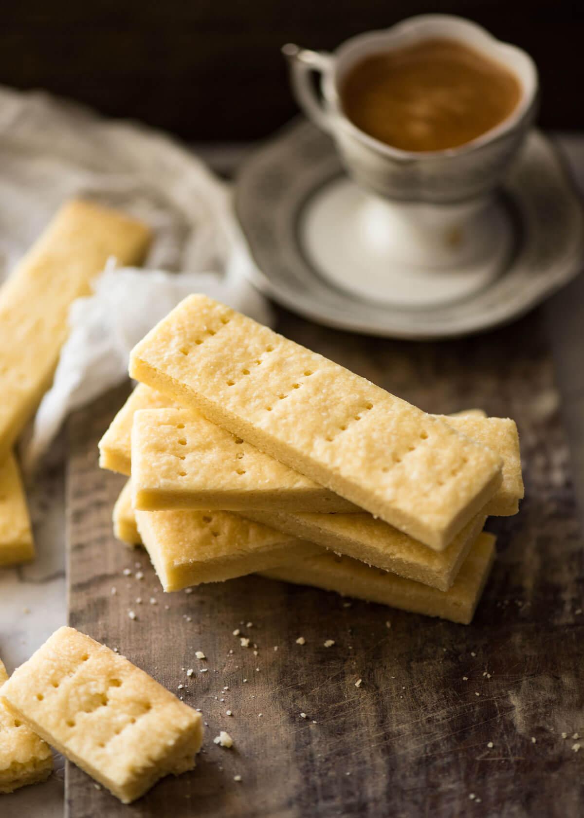 Shortbread Cookies | RecipeTin Eats