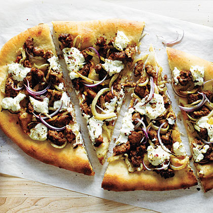 Sausage, Fennel, and Ricotta Pizza