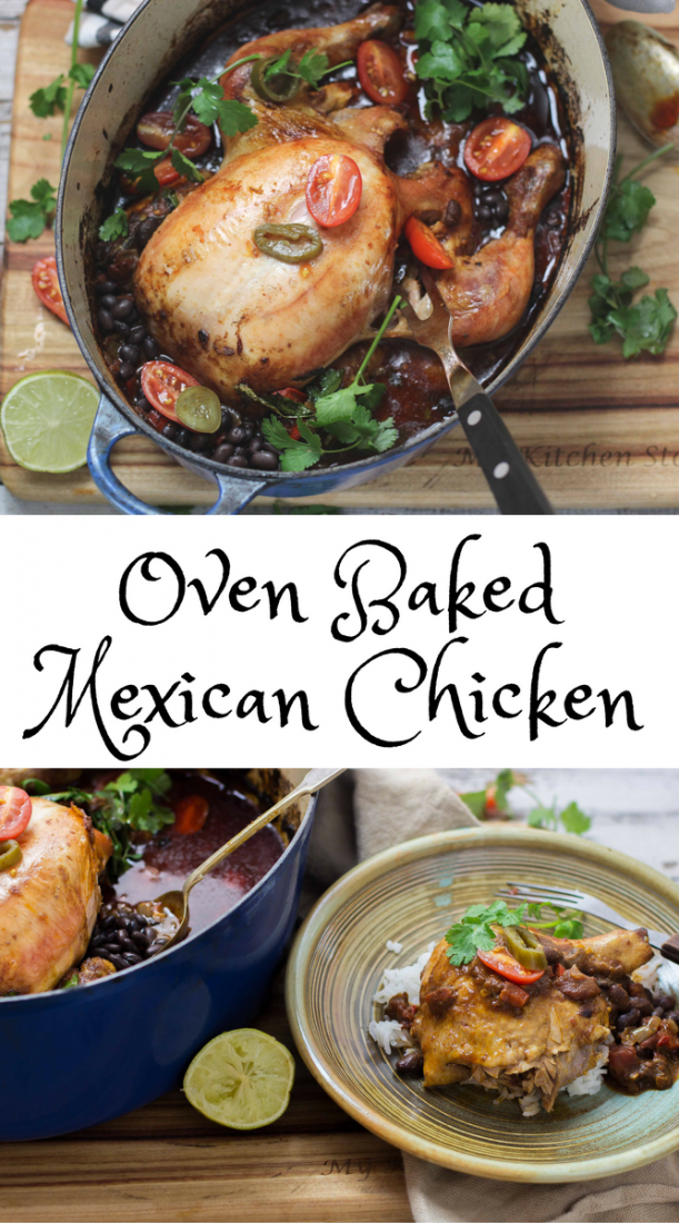 Oven Baked Mexican Chicken | My Kitchen Stories