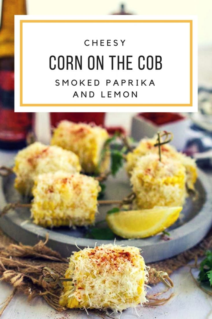Cheesy Corn on the Cob with Smoked Paprika and Lemon | My Kitchen Stories