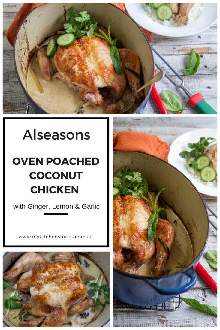One Pot, Coconut Roast Chicken | My Kitchen Stories