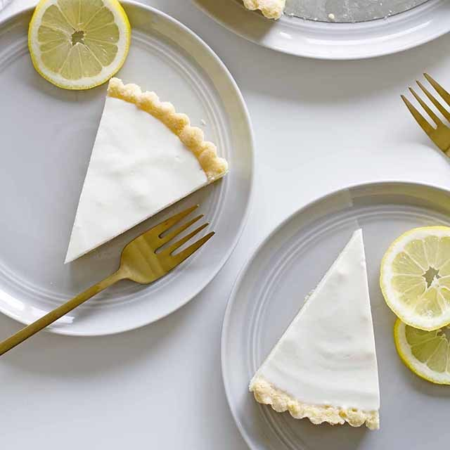 Lemon Buttermilk Sugar Cookie Tart | Girl Versus Dough