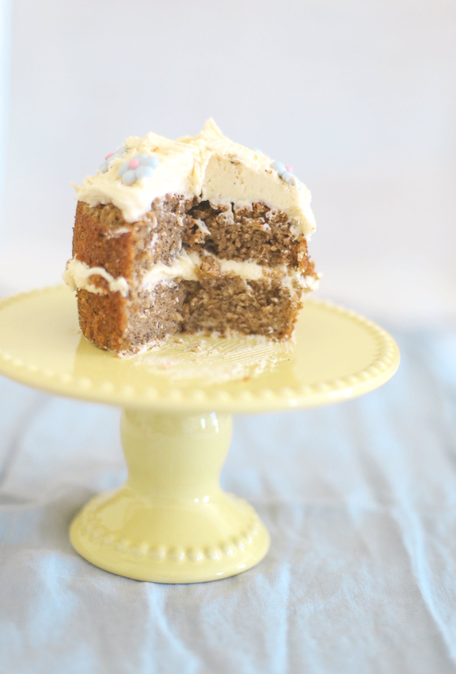 Earl Grey & honey layer cakes