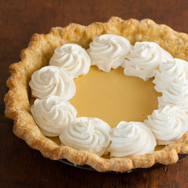 Easy Lemon Cream Pie Recipe