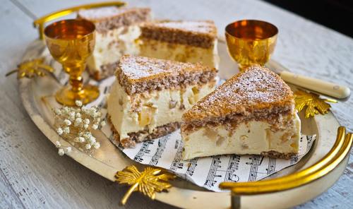 Chiara the incredible italian ricotta pear cake