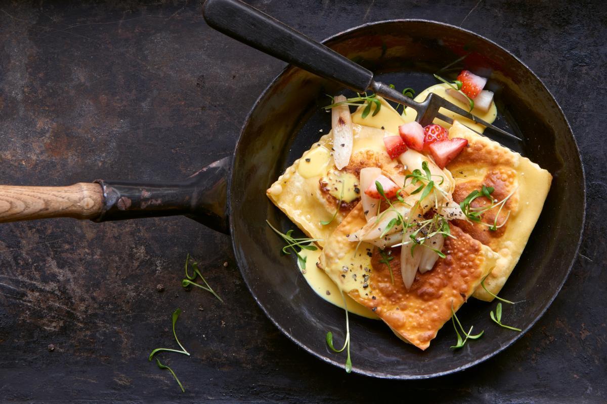 Fisch-Ravioli mit Spargeln - Rezepte | fooby.ch