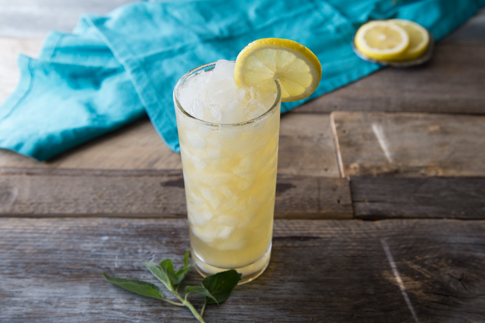 Pineapple Sage Bourbon Lemonade | Fake Food Free