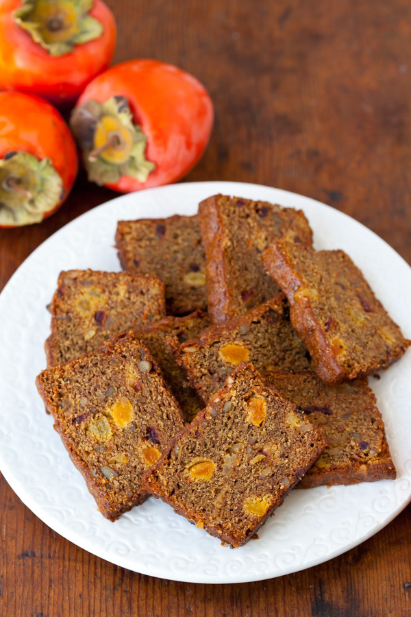 Whole Wheat Persimmon Bread Recipe
