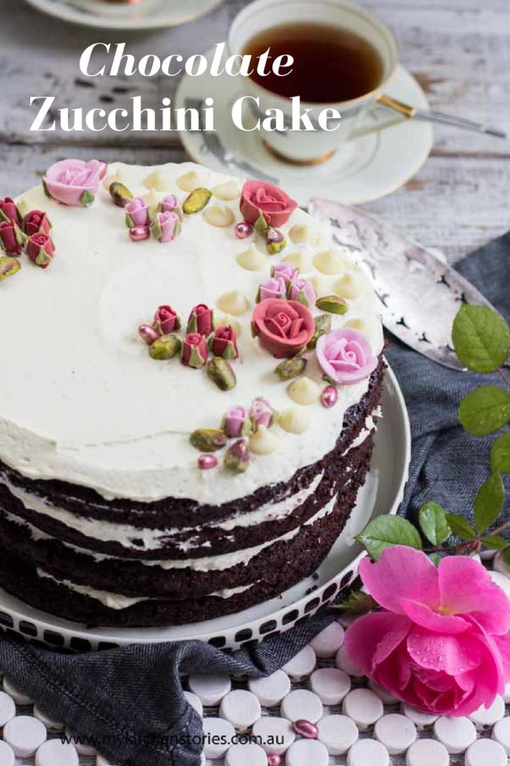 Chocolate Zucchini Cake. Hidden Goodness. | My Kitchen Stories